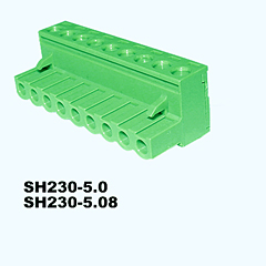 SH230-5.0,SH230-5.08,Pluggable Terminal Blocks