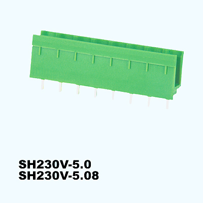 SH230V-5.0,SH230V-5.08,Pluggable Terminal Blocks