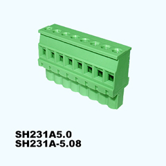 SH231A-5.0,SH231A-5.08,Pluggable Terminal Blocks