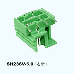 SH236V-5.0(right),Pluggable Terminal Blocks
