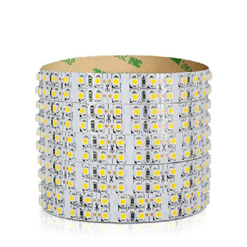 3528 double SMD LED flexible strip light 5m, 240LEDs/m - Click Image to Close