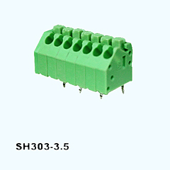 SH303-3.5,Screwless Terminal Blocks
