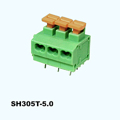 SH305T-5.0,Screwless Terminal Blocks