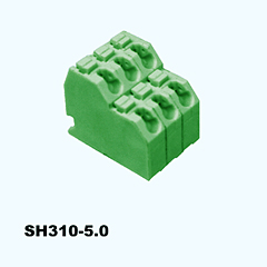 SH310-5.0,Screwless Terminal Blocks