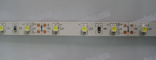 White 3528 SMD led flexible light strip